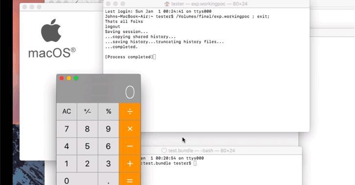 hacking apple macos exploit