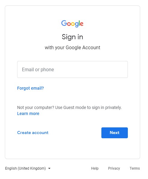 Google login details that you had used in your locked phone as well