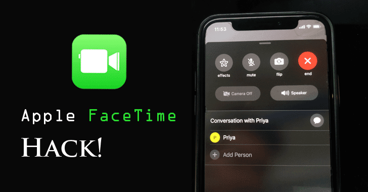 apple facetime hack