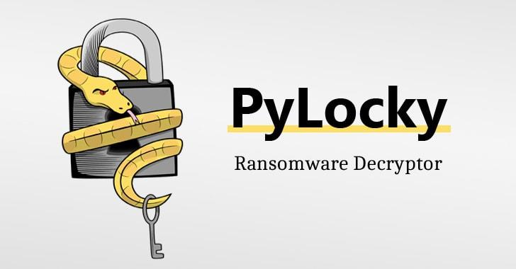PyLocky free ransomware decryptor