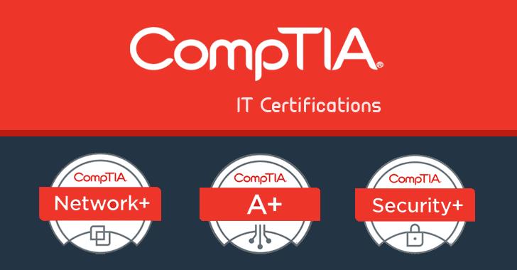 comptia certification training course