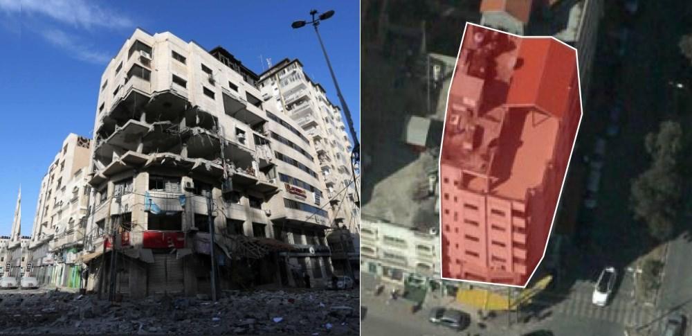 IDF bombing of Hamas cyber operatives