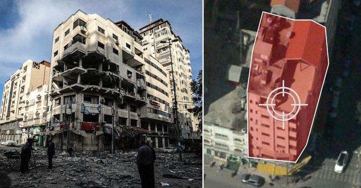 israel hamas hacker airstrikes