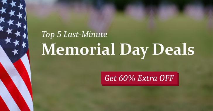 memorial day deals 2019
