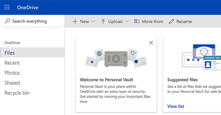 Microsoft OneDrive Personal Vault
