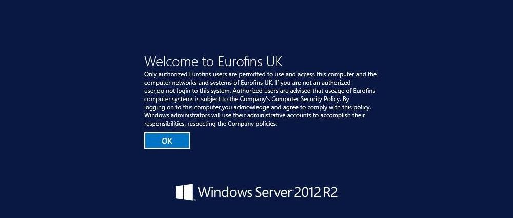 Eurofins RDP server
