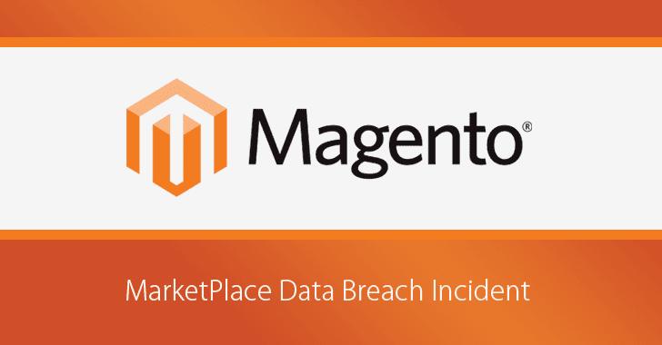 magento marketplace suffers data breach