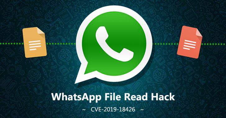 whatsapp web file read hacking