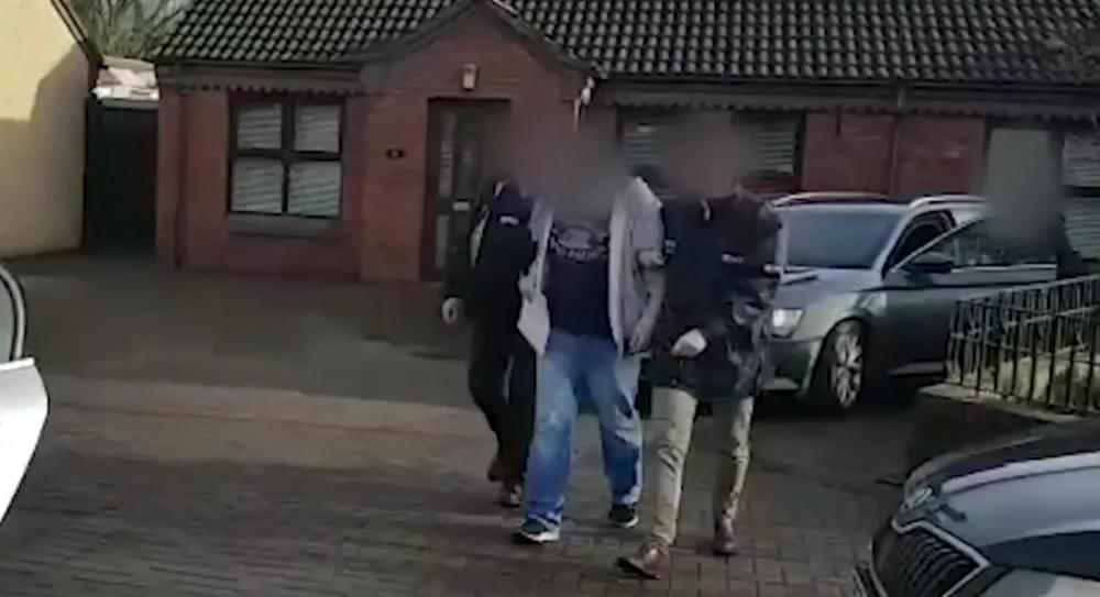 Belfast arrest