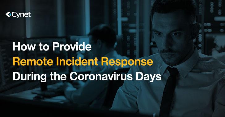 Incident Response During Coronavirus