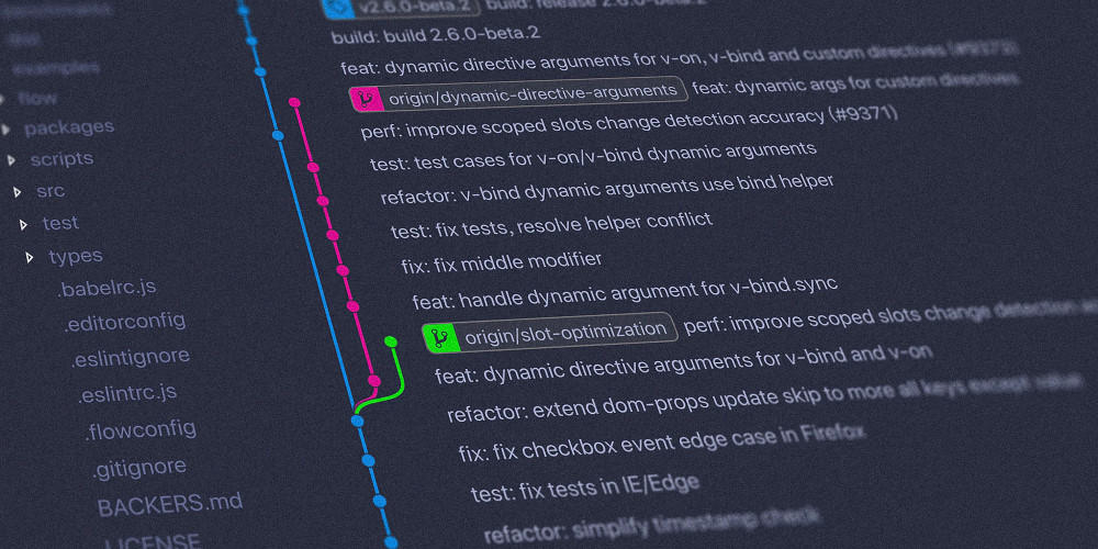 Git source code