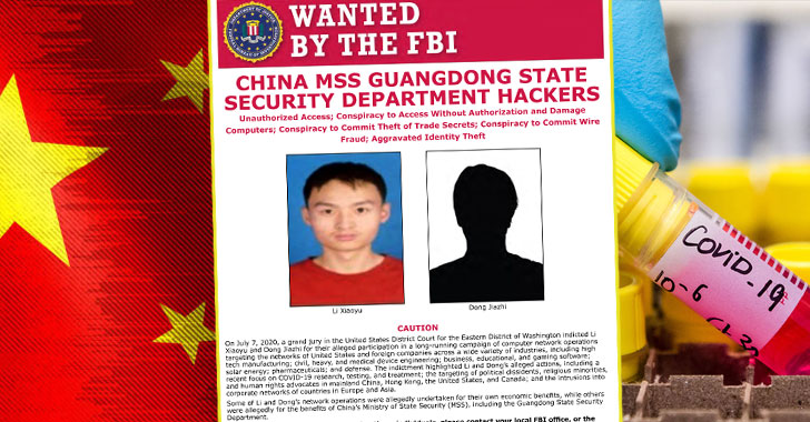 Chinese hackers target COVID-19 researches