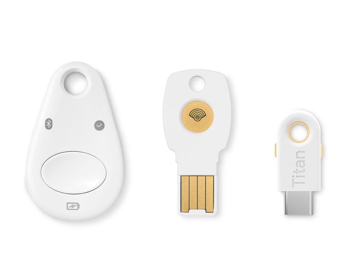 Google Titan Security Keys