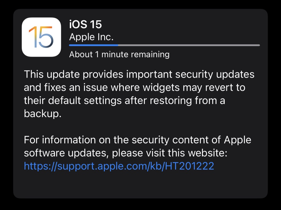 It's already time to update your brand new iPhone 13!